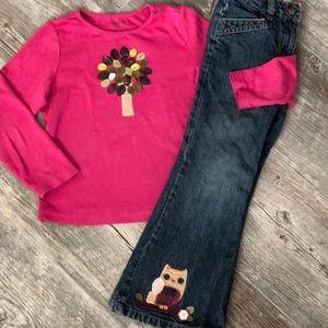 Gymboree Jeans Top Size 5